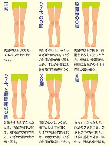 x脚とО客